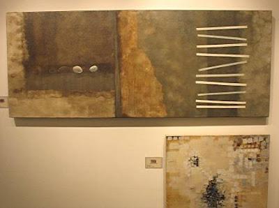 Migs Villanueva's painting, 'Outline of a novel'