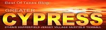 Best Of Texas Blogs: Cypress, Texas
