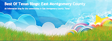 Best Of Texas Blogs: East Montgomery County