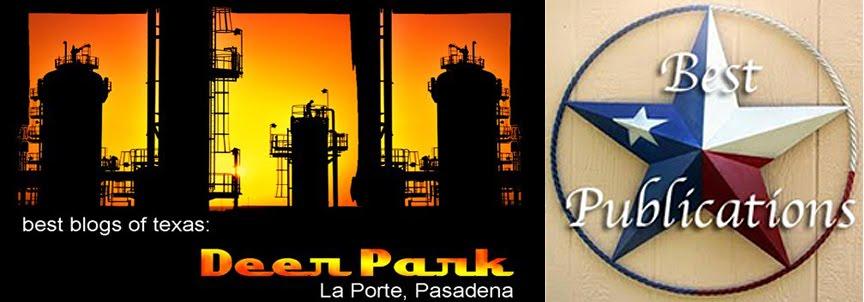 Best of Texas Blogs: Deer Park. Pasadena, La Porte