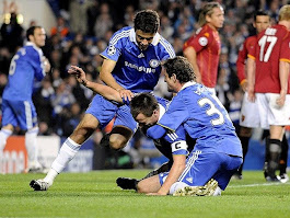 chelsea vs roma picture of the day