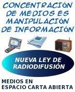 ACOMPAÑÁ CON TU FIRMA EL PROYECTO DE LEY DE SERVICIOS AUDIOVISUALES