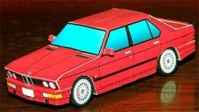 car papercraft