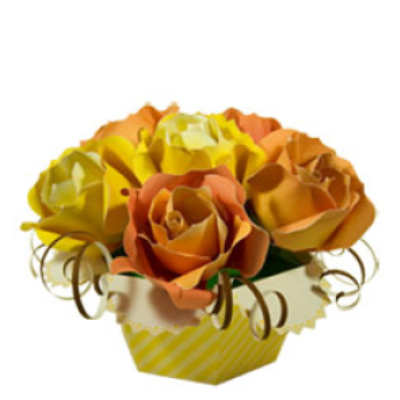 Flower Bouquet by Paper