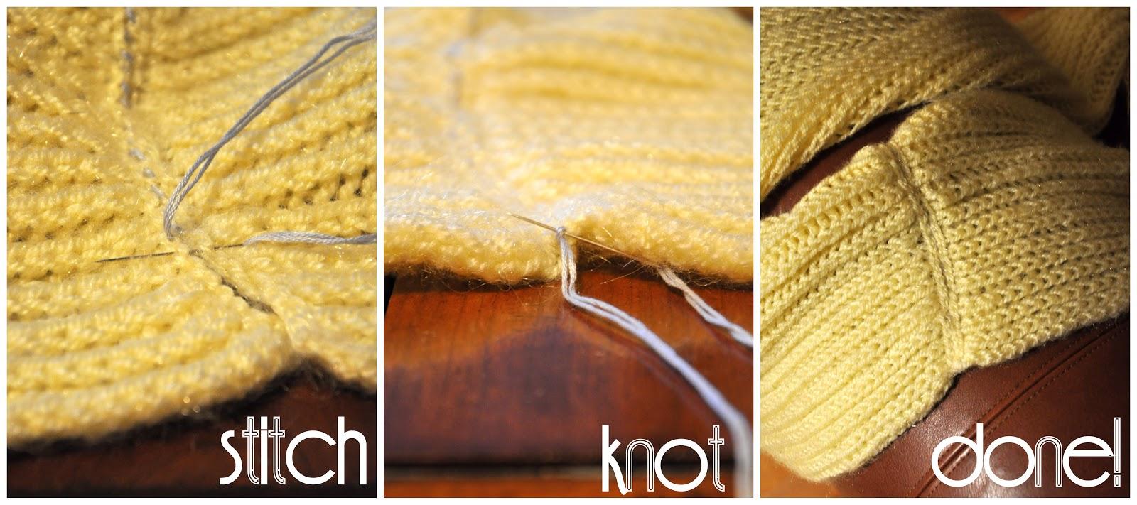 Как сшить шарф в снуд 166
