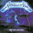 Favourite album by Metallica- Ride The Lightning