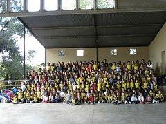 Alumnes de la ZER  10-11. Castanyada a Saus