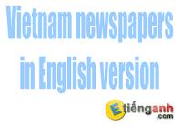 Tin tức tiếng Anh