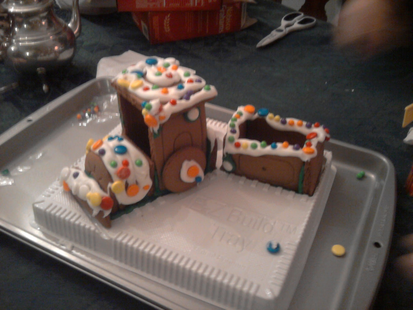 has a graham cracker house
