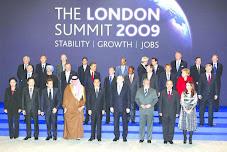 Cumbre celebrada en londres de miembros del G-20