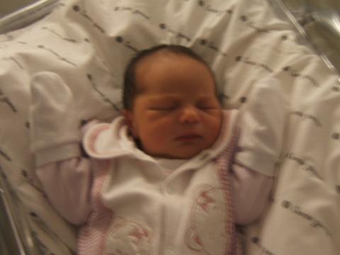 Carolzinha nasceu!!!
