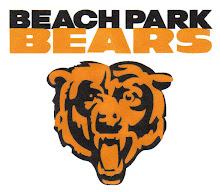 Beach Park Bears Youth Football Tackle Team.