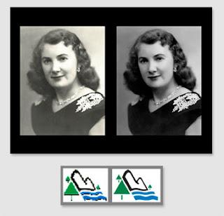 restauration de photo et de logo