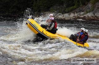 descente rafting en eau vive