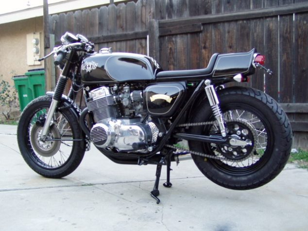 One Of Carpys Bikes From CB750cafe