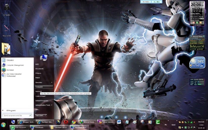 Star Wars Windows 7 Theme