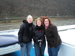 Cruising down the Rhine on our way to another Christmas Market