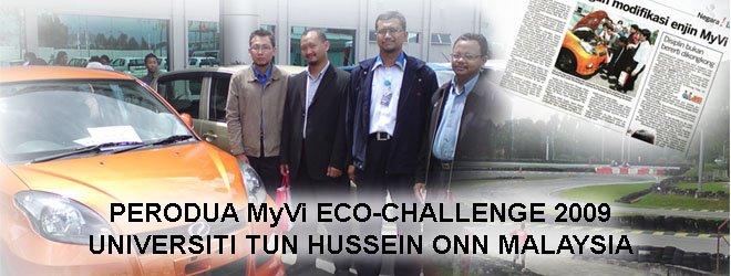 Perodua Myvi Eco-Challenge 2009 Universiti Tun Hussein Onn Malaysia