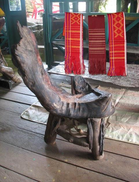 ULOS BATAK Sumatera Utara: Uis Nipes - Beka Buluh Khas Karo
