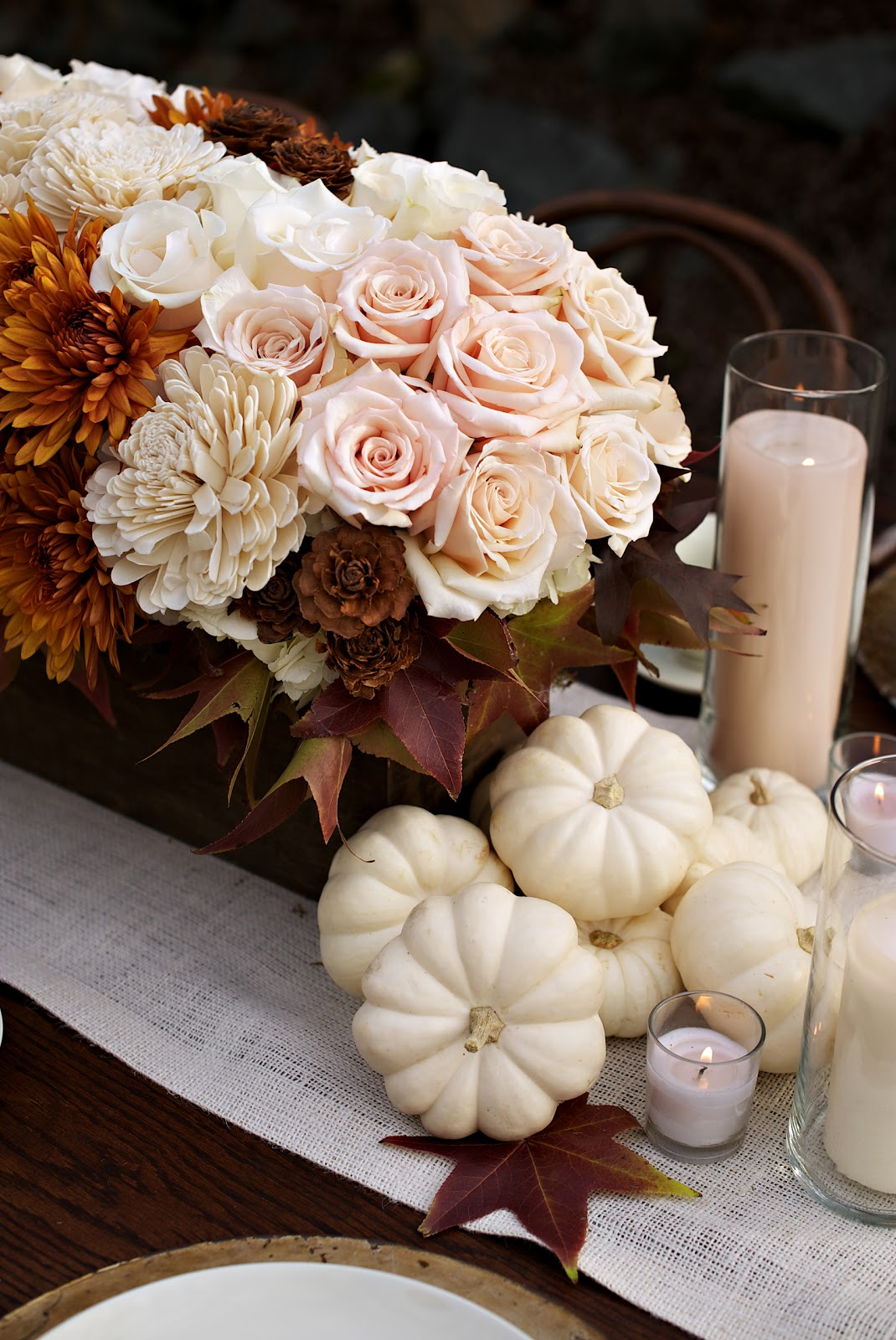 Autumn sophistication wedding inspiration heavenly blooms