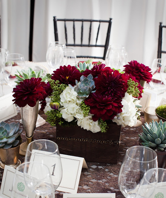 Love succulently a modern winery wedding part santa