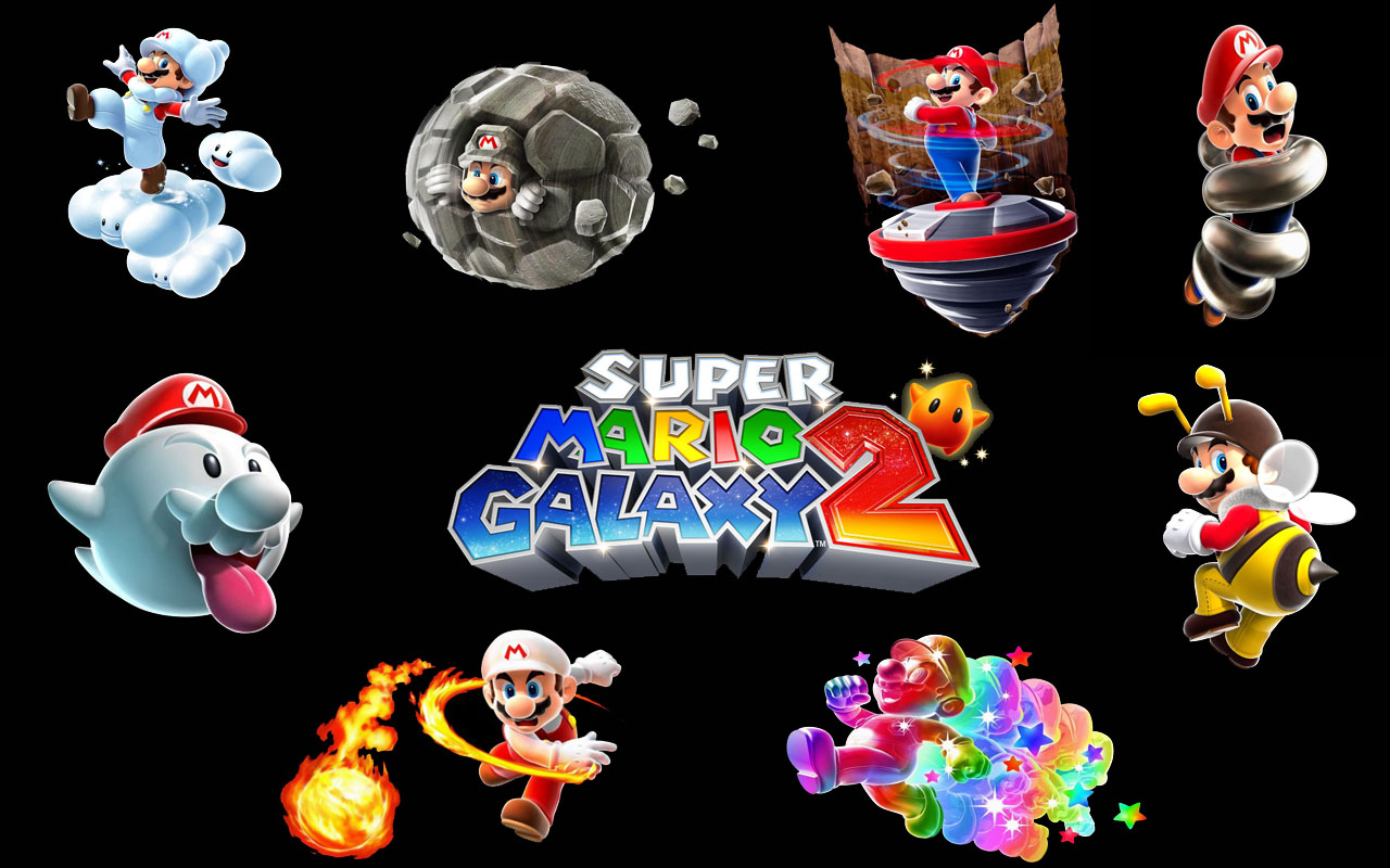 Super Mario HD & Widescreen Wallpaper 0.561955181497249