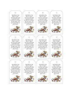 Raindeer Food Template Free | Search Results | Calendar 2015