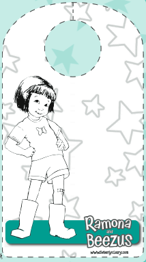 ramona quimby age 8 coloring page