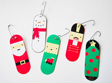 Christmas Bookmark / Ornament / Puppet printables