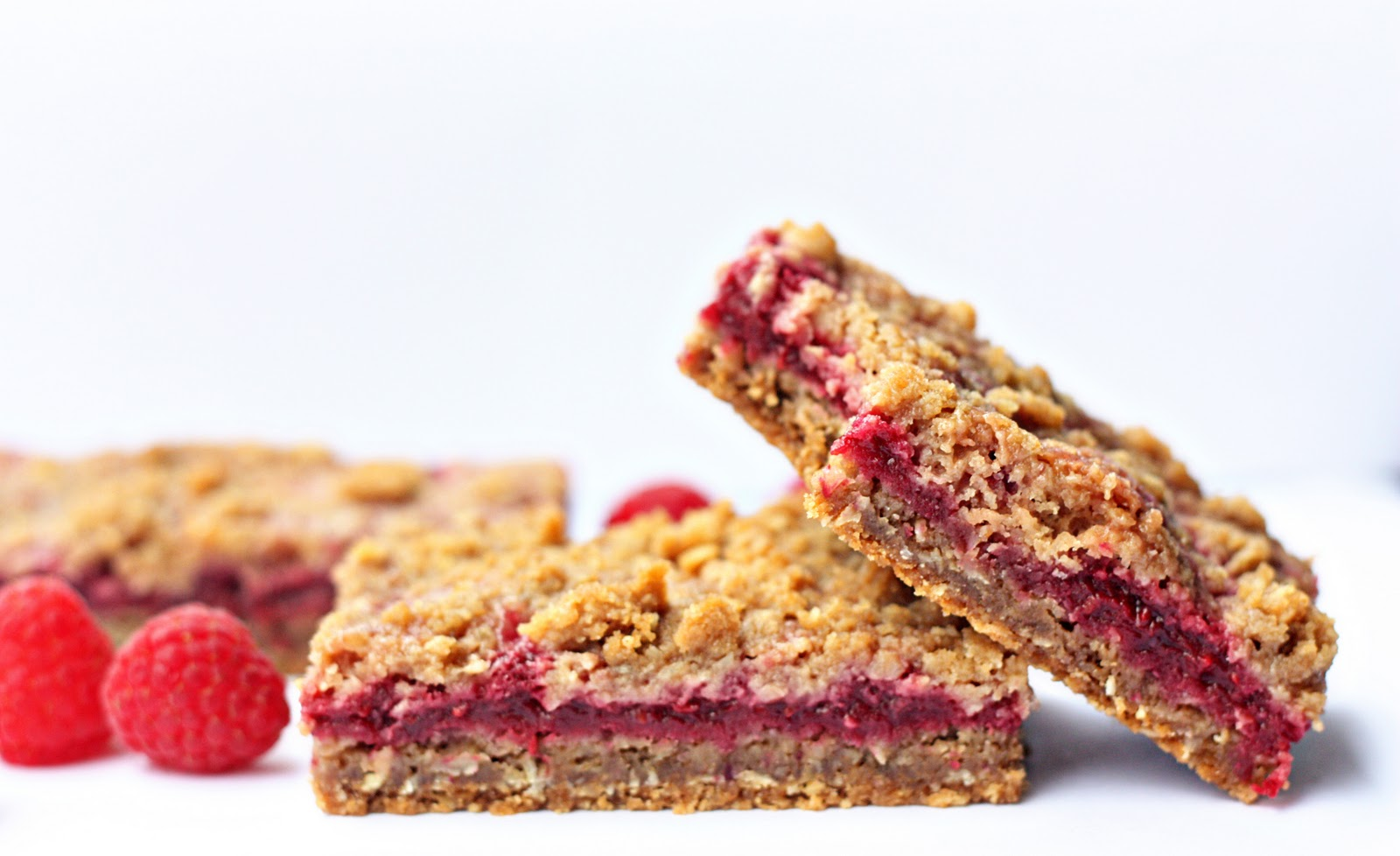 Delightful Bitefuls: Raspberry Crumb Breakfast Bars