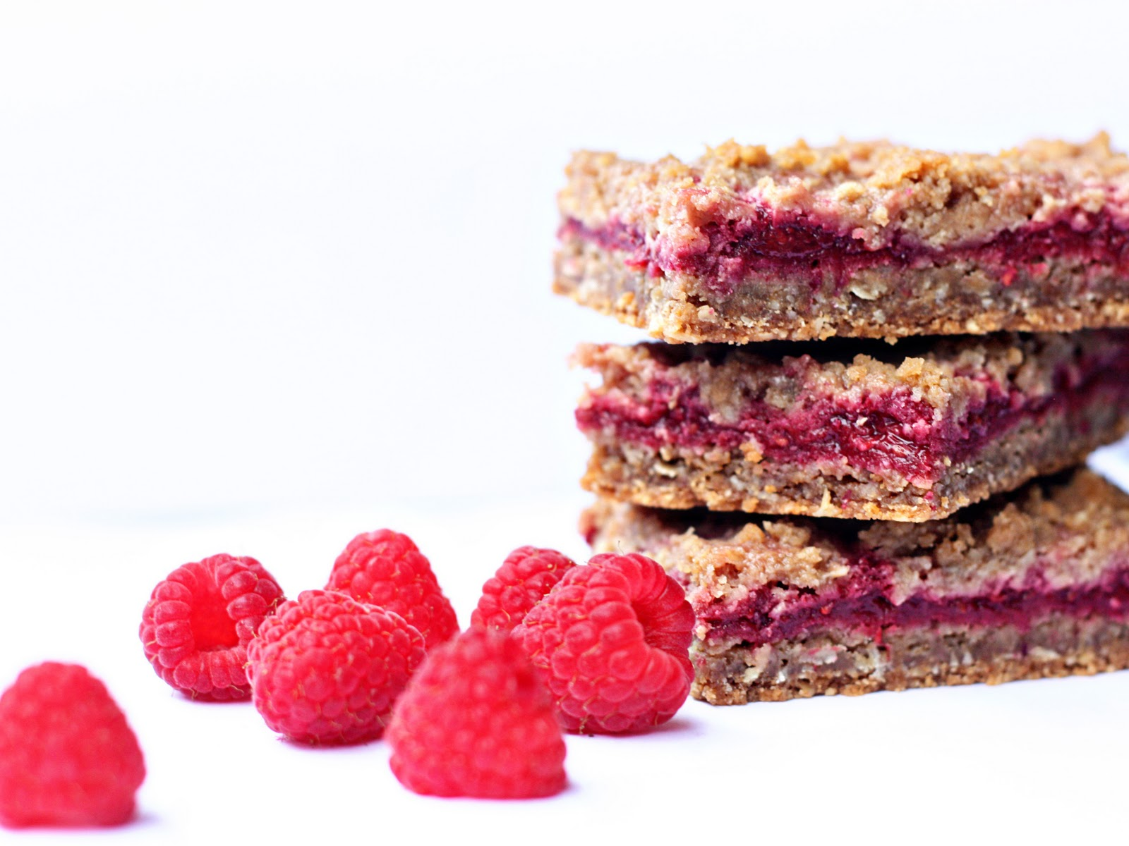 Delightful Bitefuls: Raspberry Crumb Breakfast Bars