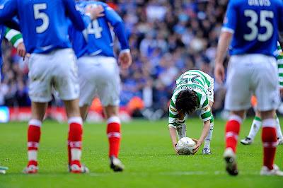 Celtic Rangers Old Firm Shunsuke Nakamura