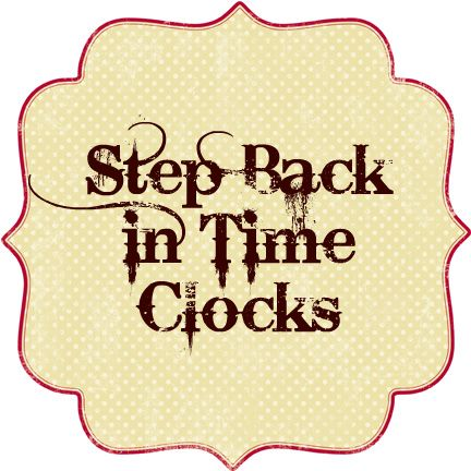 Step Back in Time Clocks