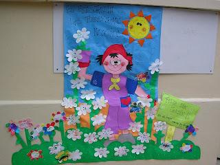 Jardin encantado capullo de flor mayo 2009 for Decoracion jardin infantes