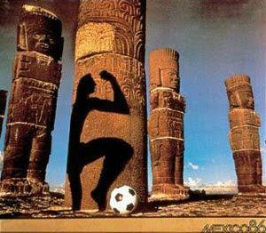 Afiche México 1986