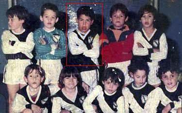 Carlos Tévez en las divisiones infantiles de All Boys