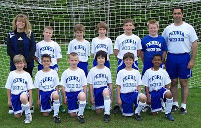 PEORIA SOCCER CLUB - 99 BOYS Soccer Coach
