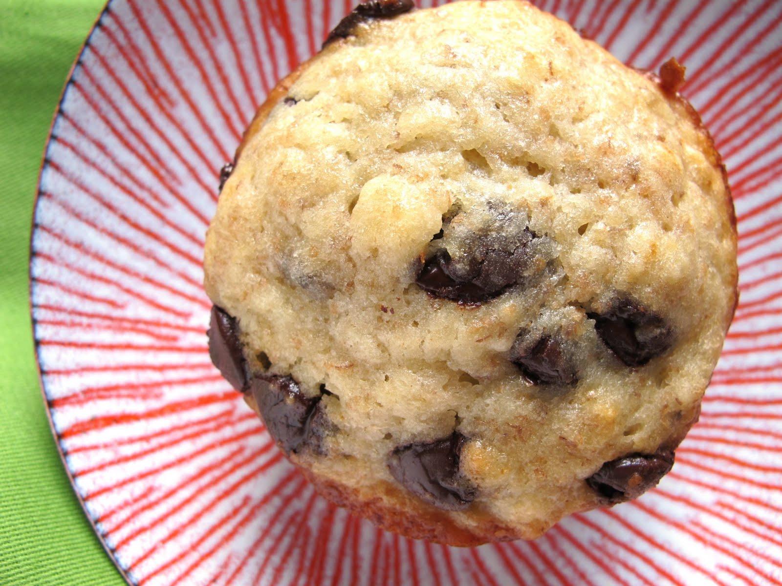Recipe: Banana chocolate-chip muffins for Weston's birthday