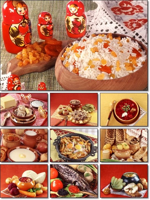 Russian Cuisine Desktop Wallpapers Pack
