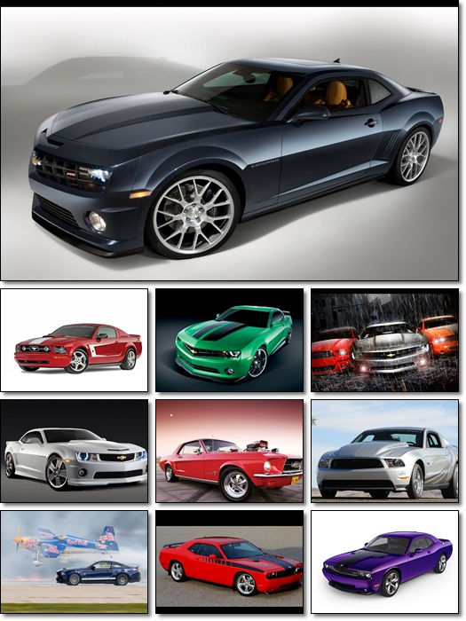 Muscle Cars Wallpapers Pack 8