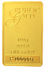 GOLD BAR (PG 100g)