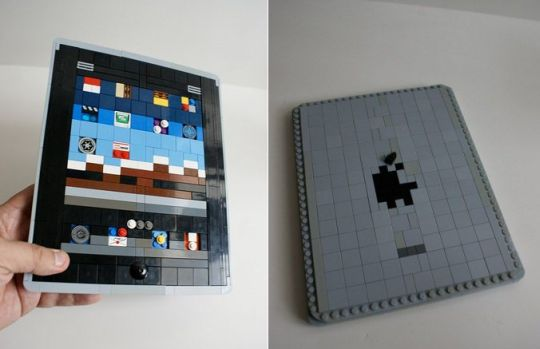 Apple iPad Appears In LEGO - Randommization
