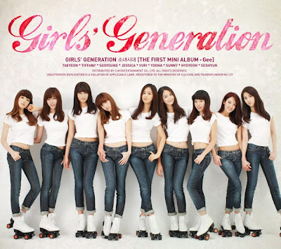 girls generation gee cover. 01 Gee 02 힘 내! (Way To Go)