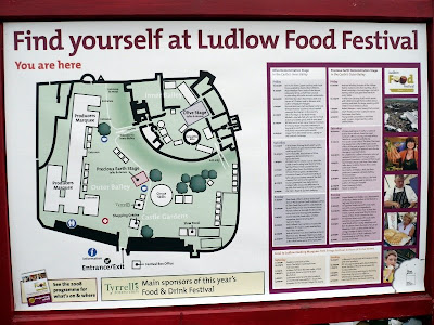 Ludlow Fest map