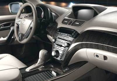 2006 Acura  on Mdx Is A Very Modest Appetite 2009 Acura Mdx Interior