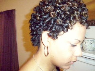 Rod Setting Natural Hair With Nmoultry Curlynikki Natural Hair Care