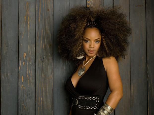 natural hair celebrity- leela james