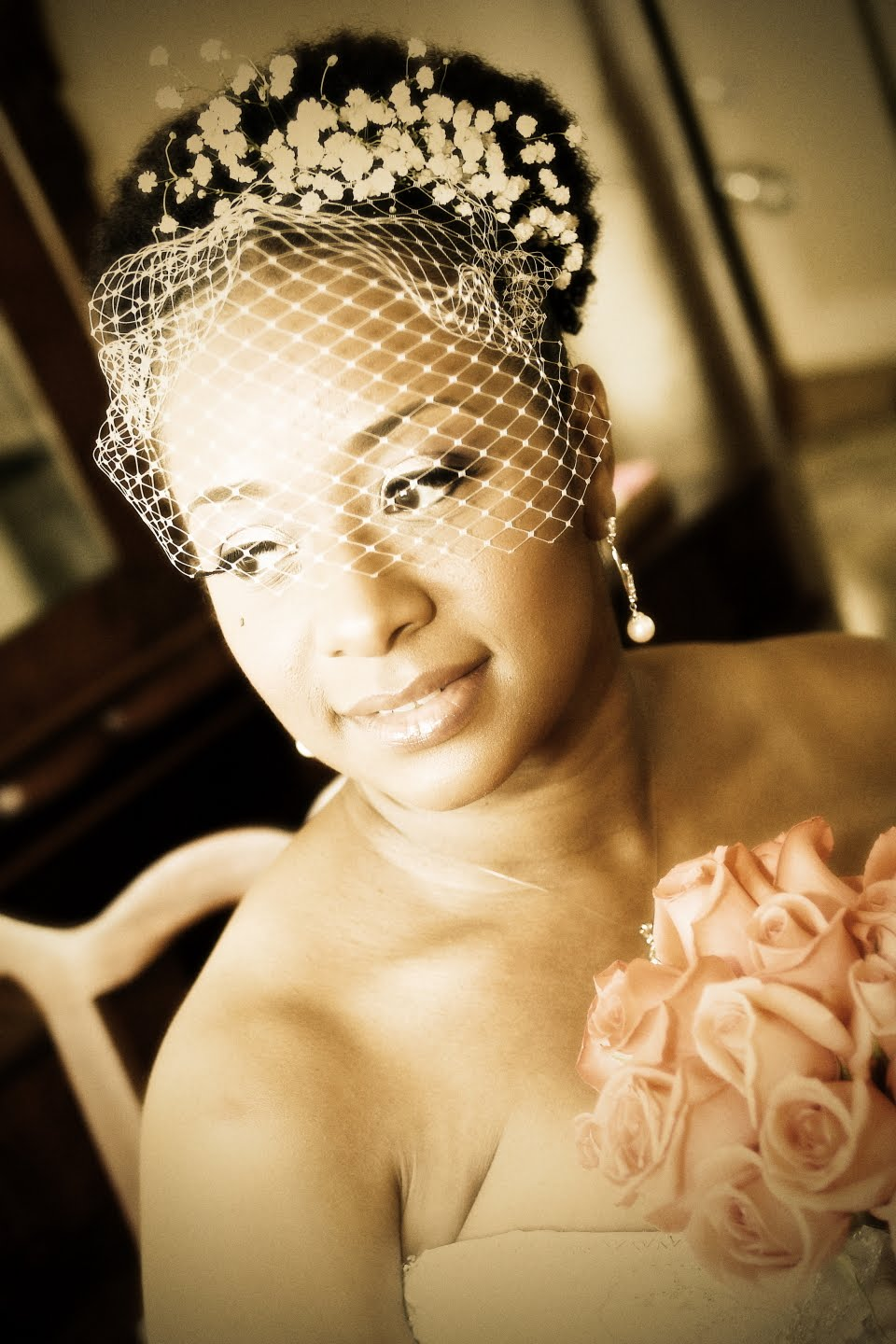 African Naturalistas: Natural Wedding Hairstyles