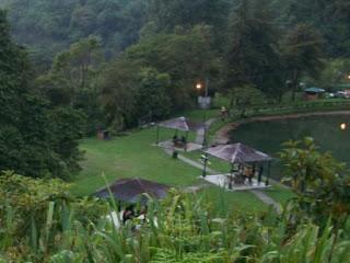 vista desde montaña parque guaramacal venezuela