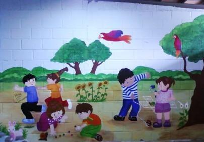 Murales para niños. Mi Arte Creativo. | Entre Poemas y Vivencias